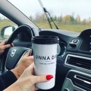UNNA DIG - take away SVART/VIT
