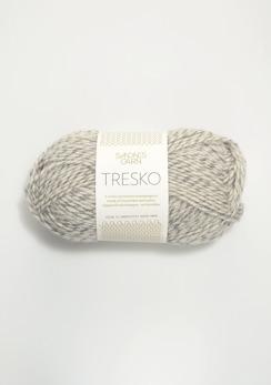 TRESKO - 1022 - Grå/vit