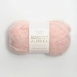 Borstad Alpakka - 4602 - Puder Rosa