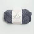 MINI ALPAKKA - 6060 - Blågrå Print