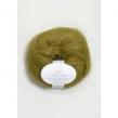 SILK MOHAIR - 9850 - NY-  Olivgrön Melerad