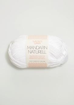 MANDARIN NATURELL - 1001 - Vit