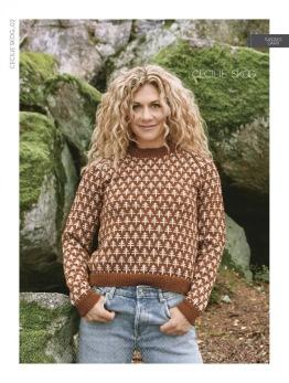 Trær genser til dame - Cecilie Skog#2 Trær genser til dame