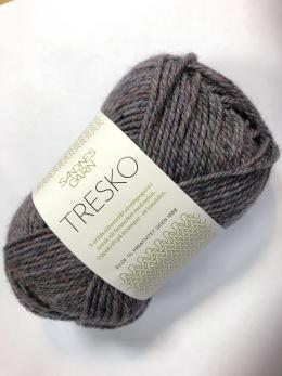 KAMPANJ TRESKO - Röd/Grå melerad - 5860