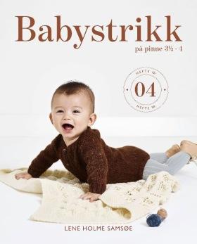 BABYSTRIKK PÅ PINNE 3 ½ - 4, nr 04 - Baby st 3,5 & 4