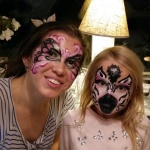 zebra ansiktsmålning