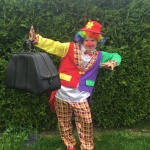 clown på kalas