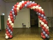 Ballongbåge på privatfest