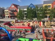 Lommafesten 2017. vi stod 2 dagar med stort uppblåsbart tivoli. ett av de större eventen vi gör.