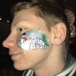 ansiktsmålning jul