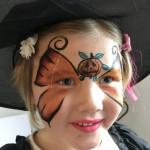 ansiktsmålning halloween