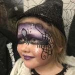 facepaint halloween witch