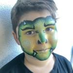 ansiktsmålning läskig