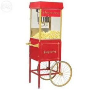 Hyra popcornmaskin; Popcornmaskin stor med popcornvagn