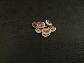 Små Barkknappar 10mm -