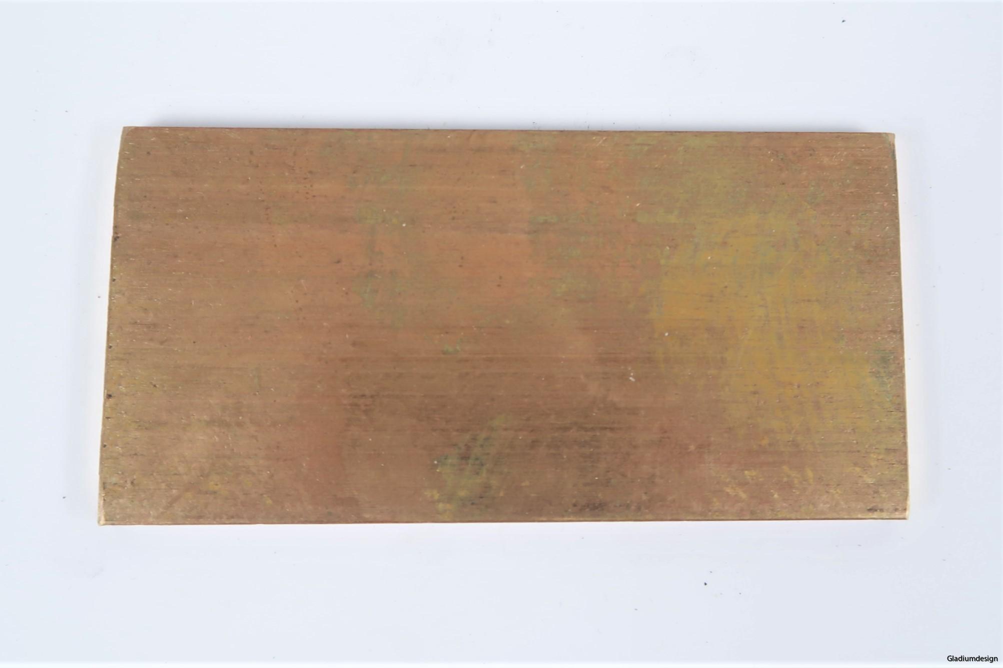 Brons knivmaterial 5mm