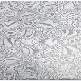 Rhombi DSC Inox rostfri damask 42x3,5mm