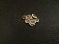 Små Barkknappar 10mm