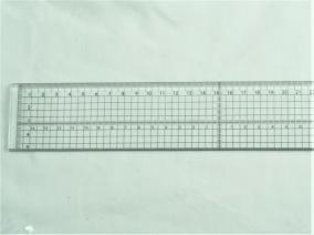 Linjal 30cm plast