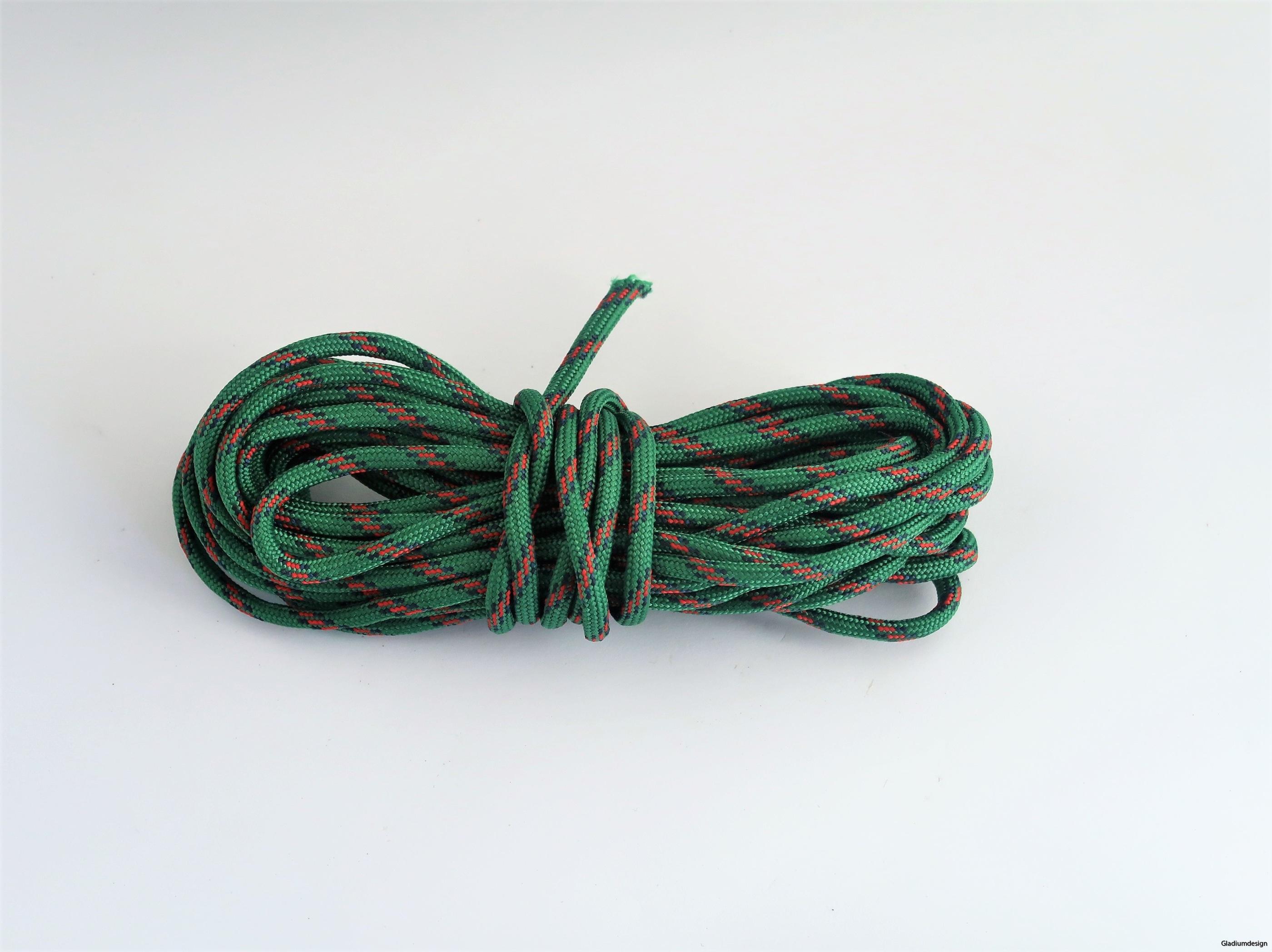Grön/svart Paracord