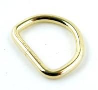 D-ring Mässing 21mm