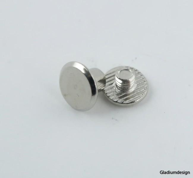 Chicagoskruv nickel 9mm