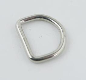 D-ring nickel 16mm