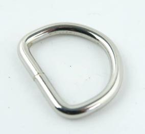 D-ring nickel 21mm