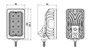 Lumenox LED Agro 40W