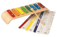 Melody Xylophone med noter