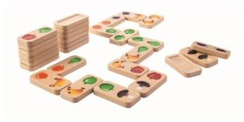 Frukt & Grönsaks Domino - Plantoys - Frukt & Grönsaks DominoFrukt & Grönsaks Domino