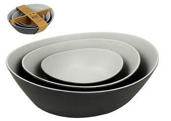Skålar set av 3 - Tripel doubel bowls - Zuperzozial