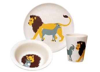 Barn set - Hungrigt Lejon - Hungry lion kids set - Zuperzozial