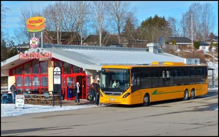 Värmlandstrafik´s nya linjebuss på linje 700 Töcksfors - Årjäng - Karlstad - Årjäng - Töcksfors - kilcka på bilden.