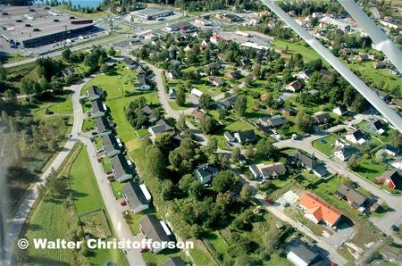 Bostadsområdet vid Ängsvägen, Torudsvägen, Bervägen, Åkervägen och Hedvägen.