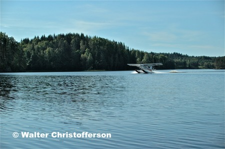 Rundturen är avslutad och vi landar på Högsjön i Hämnäs.