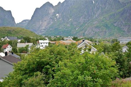 Platsen heter Å och ligger längst syd på Lofotens fastland.