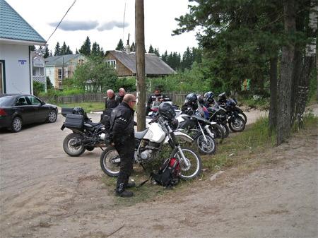 Kafferast mellan Priozersk och Petrozavodsk.