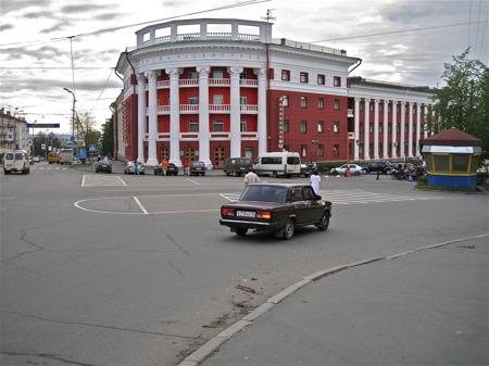 Hotell Severnaya i Petrozavodsk.