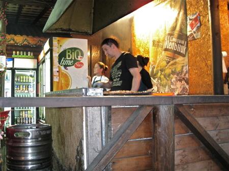 Restaurang i Petrozavodsk.