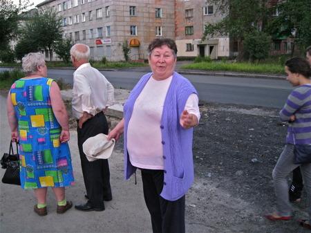 Lokalbefolkning i Kem.