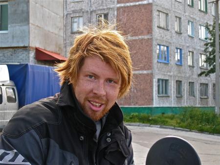 Viktor i Kirovsk.
