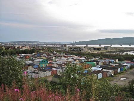MC-träff i Murmansk.