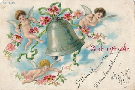 Nyårskort från 1903