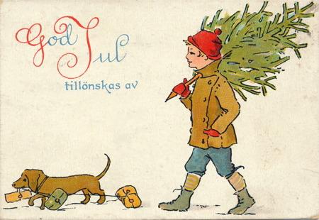 Julkort från 1912