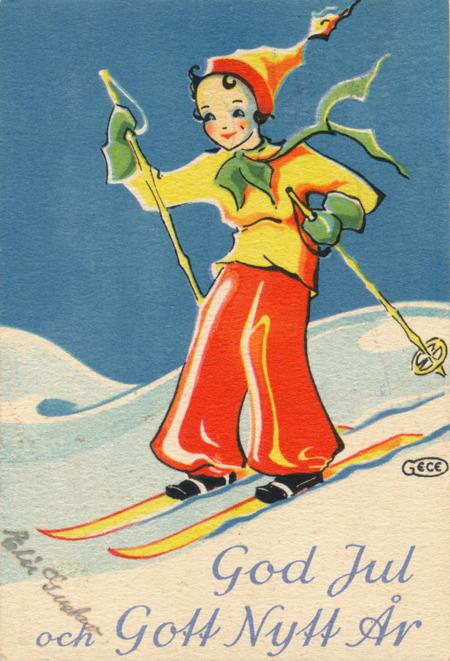 Jul- och nyårskort från 1914