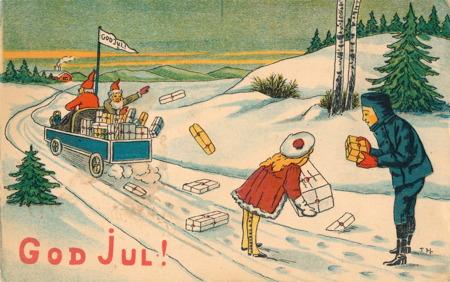 Julkort från 1918