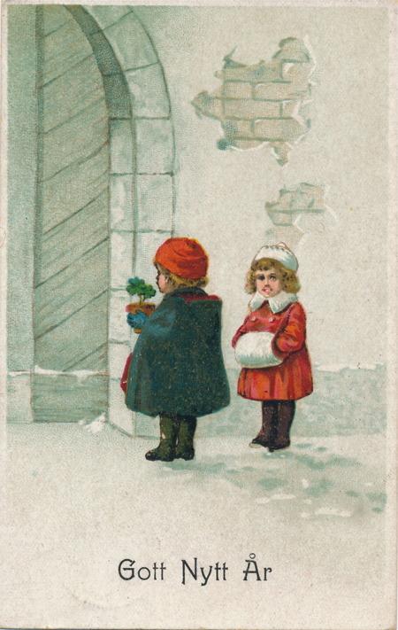 Nyårskort från 1919