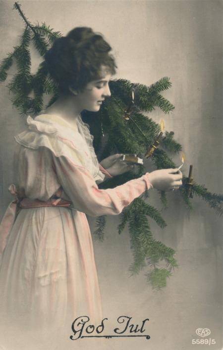Julkort från 1922