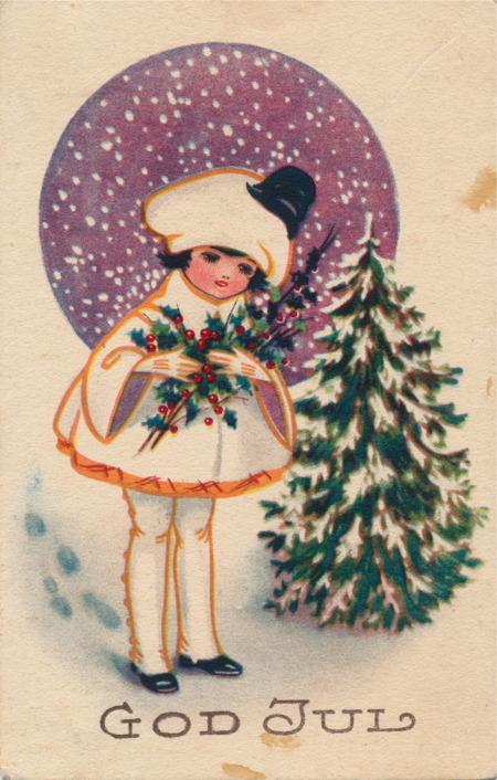 Julkort från 1923